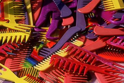 Art Print featuring the photograph Combs by Rodney Lee Williams