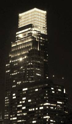 Photograph - Comcast Center by Ed Sweeney