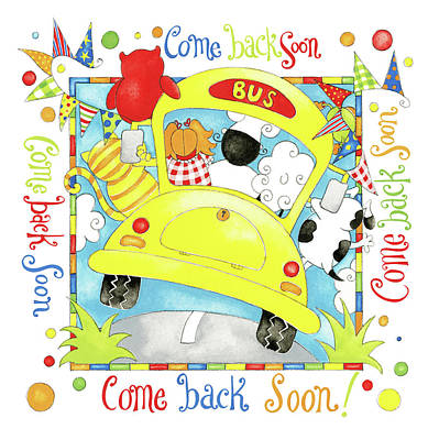 Nursery Rhyme Painting - Come Back Soon by P.s. Art Studios