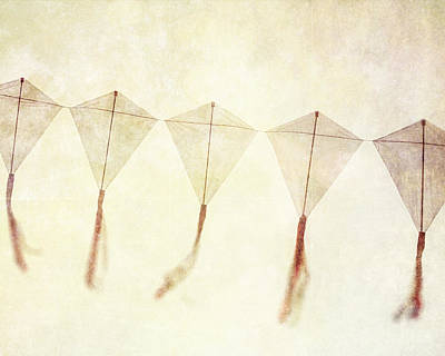 Come Fly Away - Kite Photography Art Print by Lisa Russo