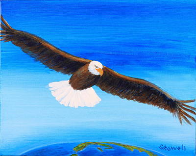Come Fly With Me Art Print by Gary Rowell