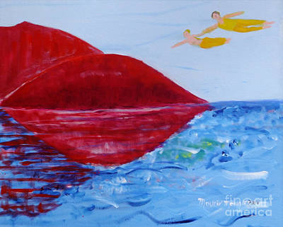 Painting - Come Fly With Me by Mounir Mounir