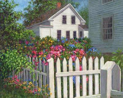 Painting - Come Into The Garden by Susan Savad