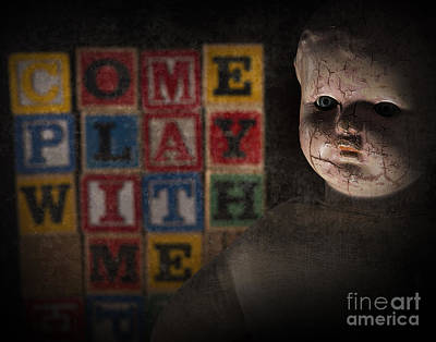 Photograph - Come Play With Me by Art Whitton