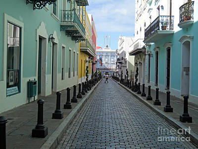Print featuring the photograph San Juan Puerto Rico by Roberta Byram