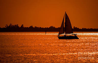 Sailboat Photograph - Come Sail Away by Edward Fielding