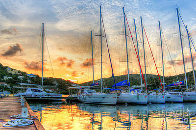Sint Maarten Wall Art - Photograph - Come Sail Away by Linda Arnado