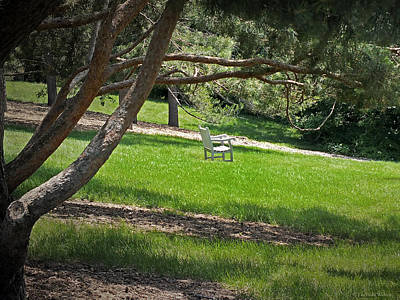 Photograph - Come Sit - Enjoy by Lucinda Walter
