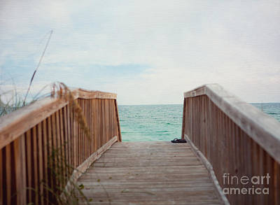 Photograph - Come Take A Beach Walk by Kay Pickens