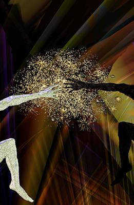 Digital Art - Come Together- It's Magic by Holger Debek