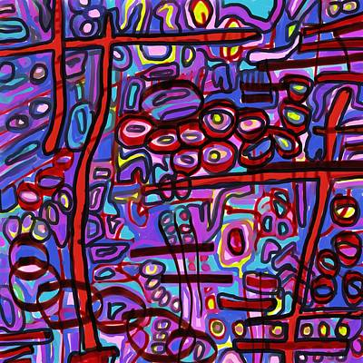 Digital Art - Come Together by Jeff Gater