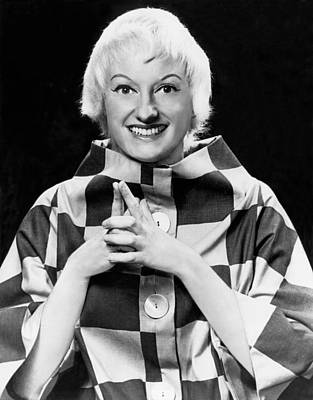 Photograph - Comedienne Phyllis Diller by Underwood Archives