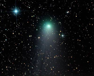 Comet Photograph - Comet C2012 V2 by Damian Peach