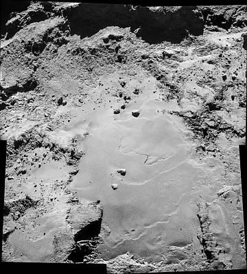 Mosaic Photograph - Comet Churyumov-gerasimenko From Rosetta by European Space Agency/rosetta/navcam