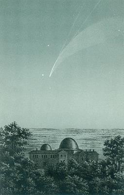 Comet Donati Print by Detlev Van Ravenswaay