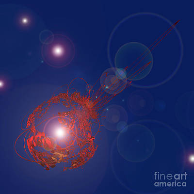 First Star Art By Jrr Digital Art - Comet by First Star Art