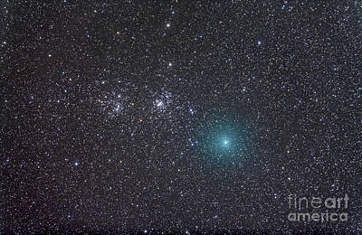 Photograph - Comet Hartley 2 As It Approaches by Alan Dyer