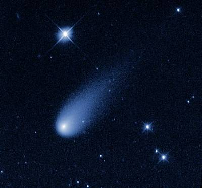 Comet Ison Art Print by Nasa