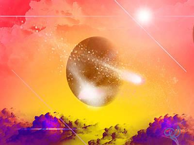 Comet Art Print