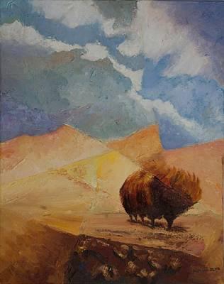Killen Painting - Comfort 2 by William Killen