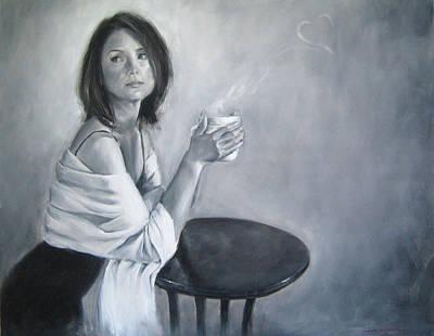 Painting - Comfort by Junko Van Norman