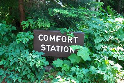 Photograph - Comfort Station by Mark Bowmer