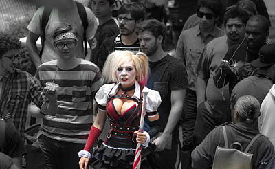 San Diego Convention Center Photograph - Comic-cons  Man Eater by Russ Harris