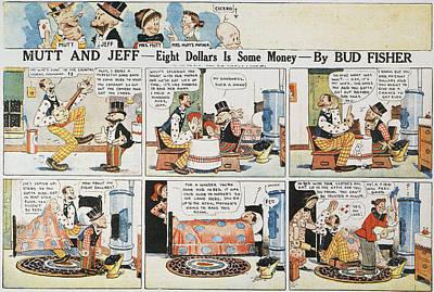 Mongrel Painting - Comic Mutt & Jeff, 1918 by Granger