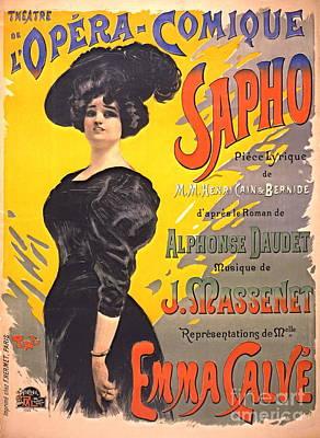 Playbill Photograph - Comic Opera Playbill 1897 by Padre Art