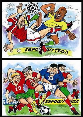 Goalkeeper Drawing - Comics. Fifth Page by Vitaliy Shcherbak