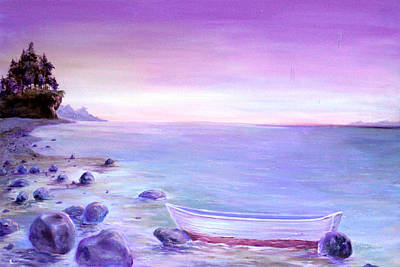 Painting - Coming Ashore by James  Andrews