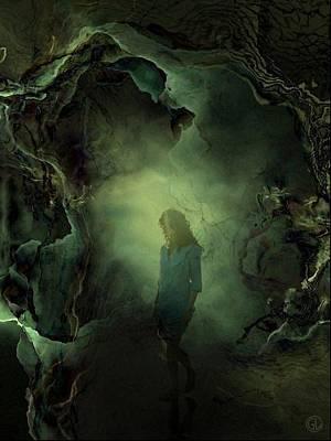 Portal Digital Art - Coming Back From Dreamland by Gun Legler