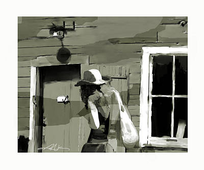 Art Print featuring the painting Coming Home by Bob Salo