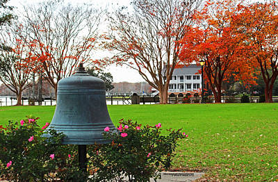 Colonial Photograph - Coming To A Close by Ginny Gillam