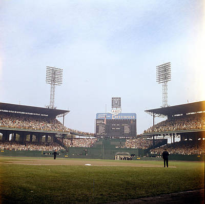Comiskey Park Photo From The Outfield Art Print by Retro Images Archive
