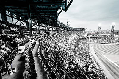 Photograph - Comiskey Park Stands by Anthony Doudt