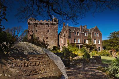 Photograph - Comlongon Castle by Jean-Noel Nicolas
