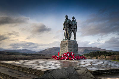 Commando Memorial At Spean Bridge Art Print