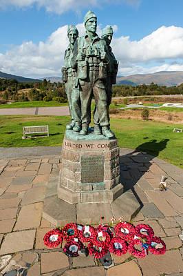 Photograph - Commando Memorial Spean Bridge by Gary Eason