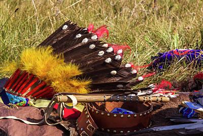 Nez Perce Photograph - Commemoration Of Battle Site By The Nez by Chuck Haney