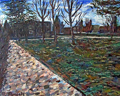 Painting - Commencement Commons by Denny Morreale