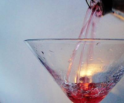 Martini Royalty-Free and Rights-Managed Images - Commencement of a Cosmopolitan by Pixel Productions
