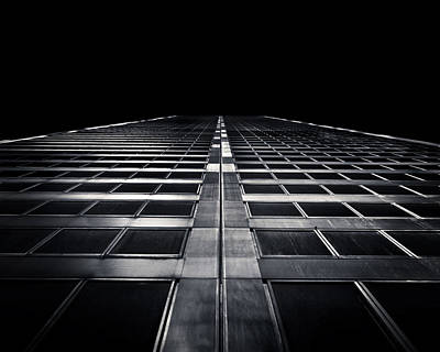 Print featuring the photograph Commerce Court West 1 by Brian Carson
