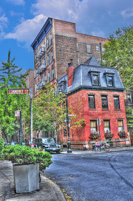 Manhattan Photograph - Commerce Street In The West Village by Randy Aveille