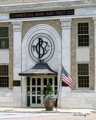 Commercial Bank And Trust Art Print