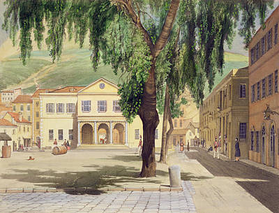 Commercial Square, The Commercial Art Print by Thomas Colman Dibdin