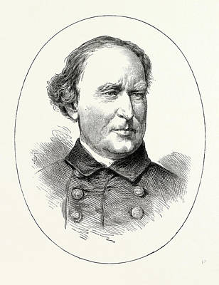 Commodore Farragut, He Was A Flag Officer Of The United Art Print by American School