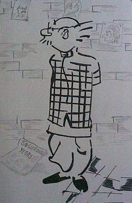 Mango Drawing - Common Man by Pranjal  Dhasmana