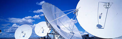 Communication Satellite Brewster Wa Usa Art Print