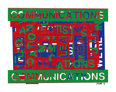 Communications Breakdown Art Print by Agustin Goba